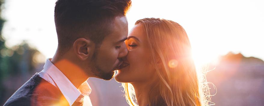 Beijar faz bem para a saúde!